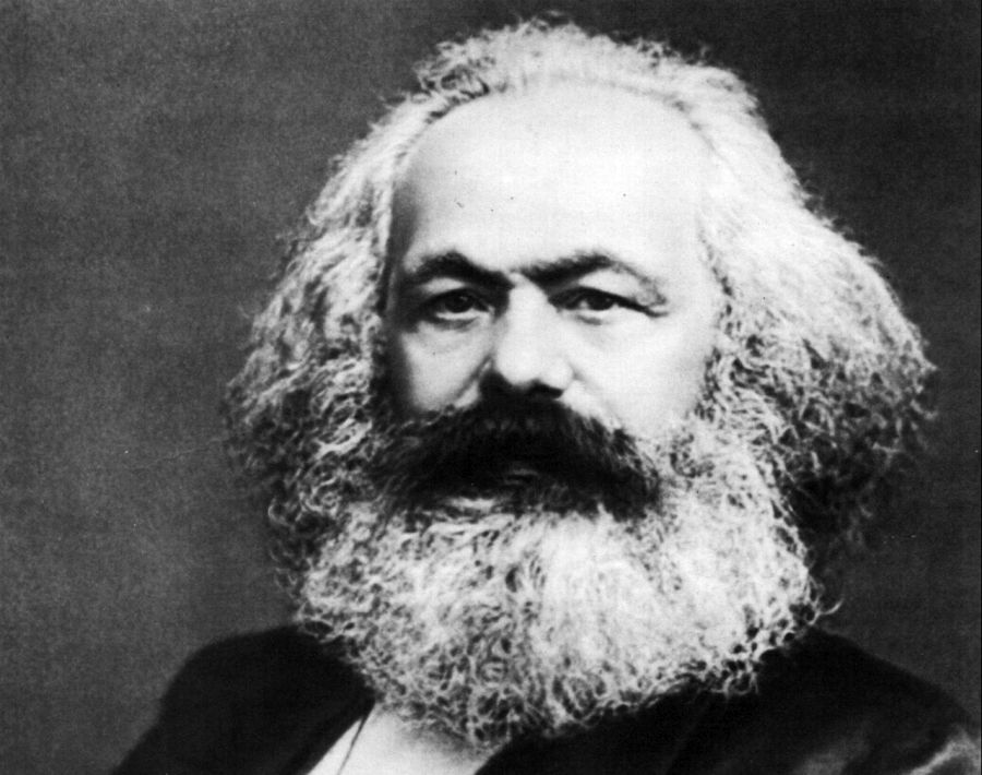 Karl Marx (foto: Public Domain via Wikipedia Commons))